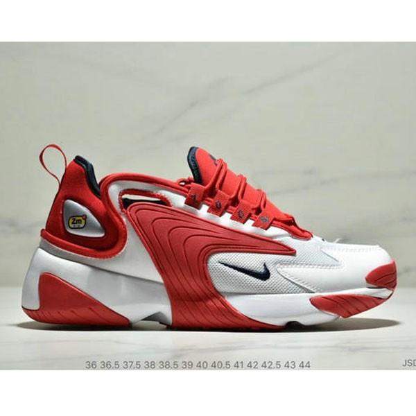 Nike Zoom +2K Sneaker White/Black Zoom 2000復古百搭老爹慢跑鞋 男女款 白紅黑