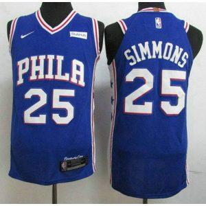 8197952bf98452e7 300x300 - Nike NBA球衣 76人隊 球衣 正品熱印籃球服 藍色