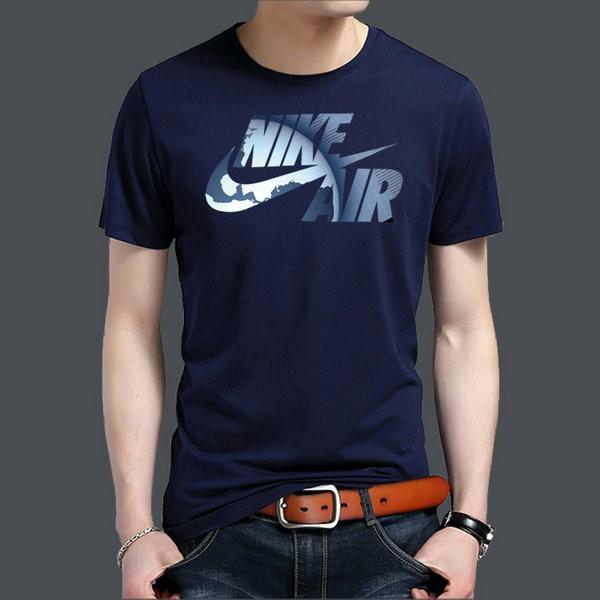 NIKE 男裝 夏季 運動 休閒 舒適 透氣 圓領 短袖 T恤衫