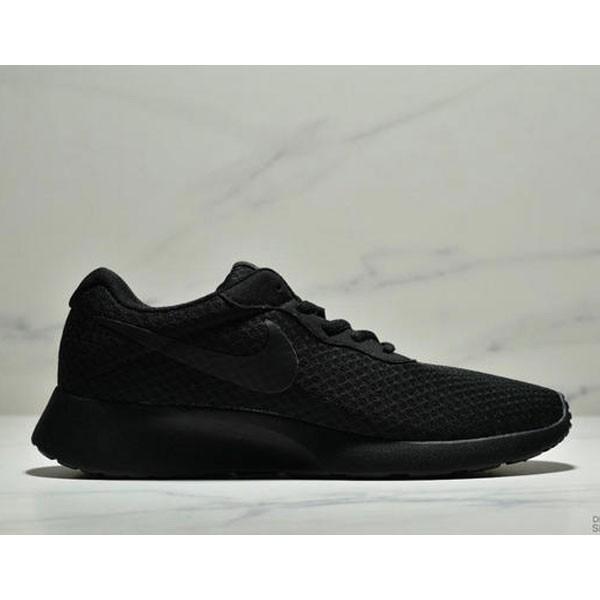 Nike Wmns Tanjun SE 倫敦三代 尼龍韌性透氣網面 男女鞋 全黑