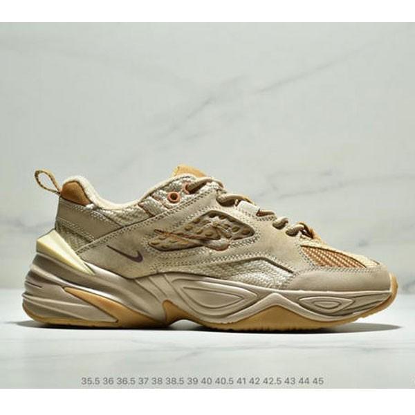 Nike M2K Tekno SP復古潮流百搭休閒運動旅遊老爹鞋 情侶款 亞麻黃沙棕