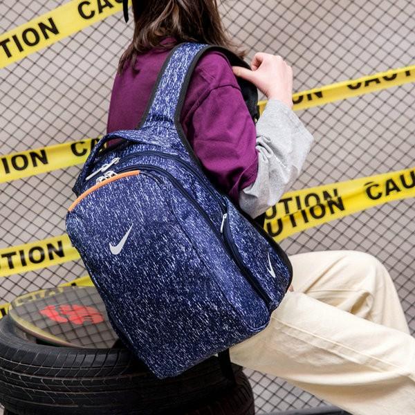 NIKE 雙肩包 男女 學生 書包  電腦 揹包 紫色