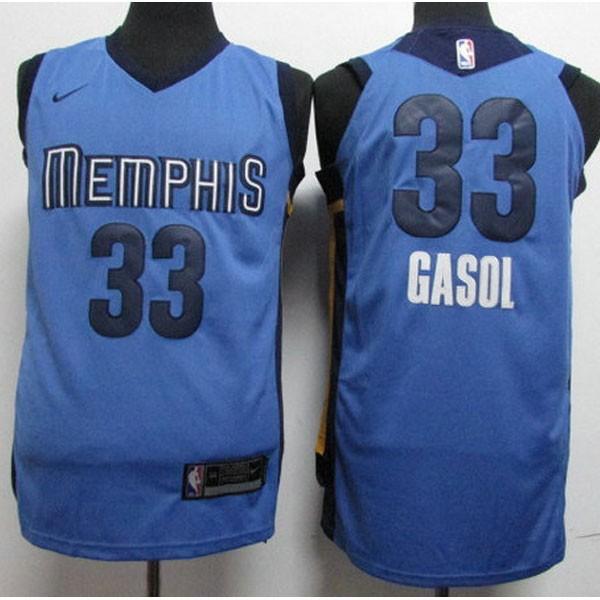 Nike NBA球衣 33 藍色