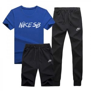 9173b7020481edbe 300x300 - NIKE 情侶款 跑步 健身服 運動 三件套裝