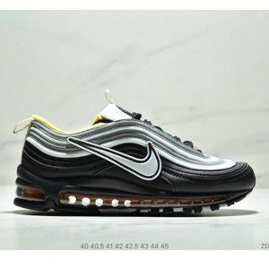 92a6a3a27ba83b3c 300x300 - Nike Air Max 97 大勾子彈復古全掌氣墊休閒運動鞋 男款 白黑黃