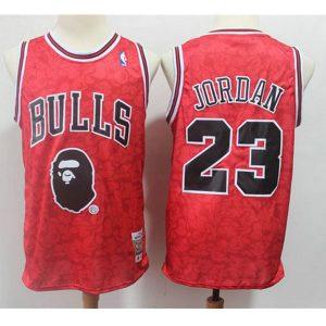 948c3292097b405b 300x300 - Nike NBA球衣 猴爺聯名款公牛23紅