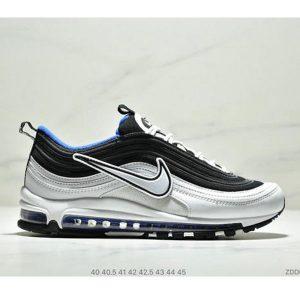 9506d1e497f9d3f9 300x300 - Nike Air Max 97 大勾子彈復古全掌氣墊休閒運動鞋 男款 白黑寶藍