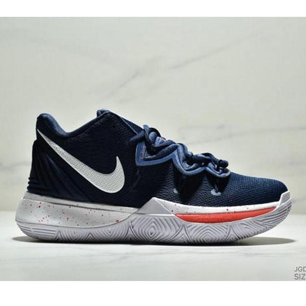 Nike KYRIE 5 EP 歐文5代 內建氣墊 實戰籃球鞋 男款 深藍白