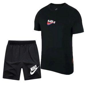98bd826df4c48857 300x300 - NIKE 跑步 短袖t恤 情侶款 圓領 莫代爾棉 打底衫 修身 簡約 短袖套裝