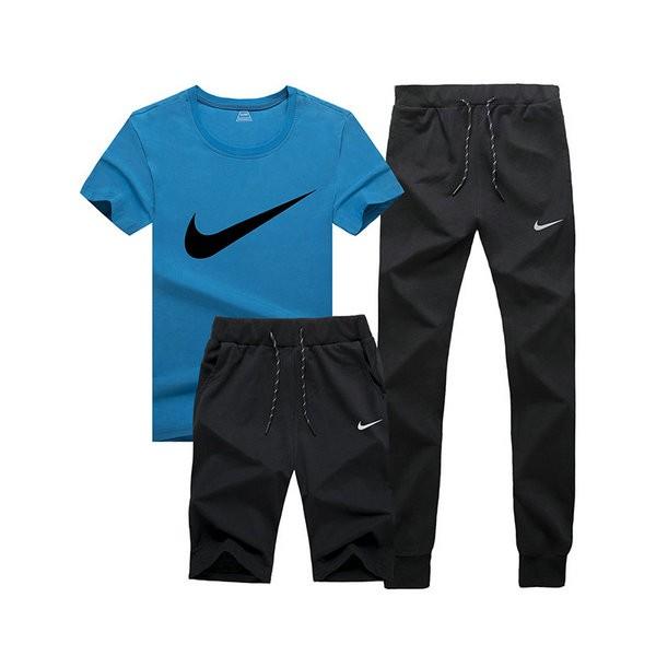 NIKE 情侣款 跑步 健身服 運動 三件套裝