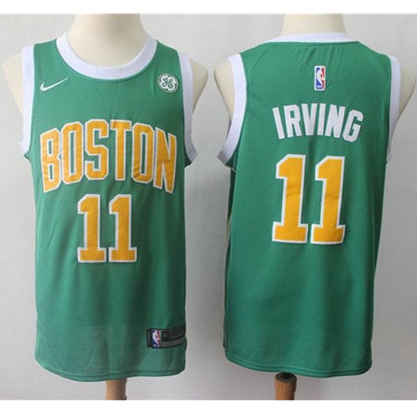 Nike NBA球衣 凱爾特人11城市版綠
