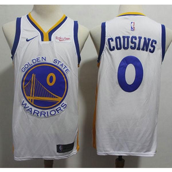 Nike NBA球衣 勇士0白