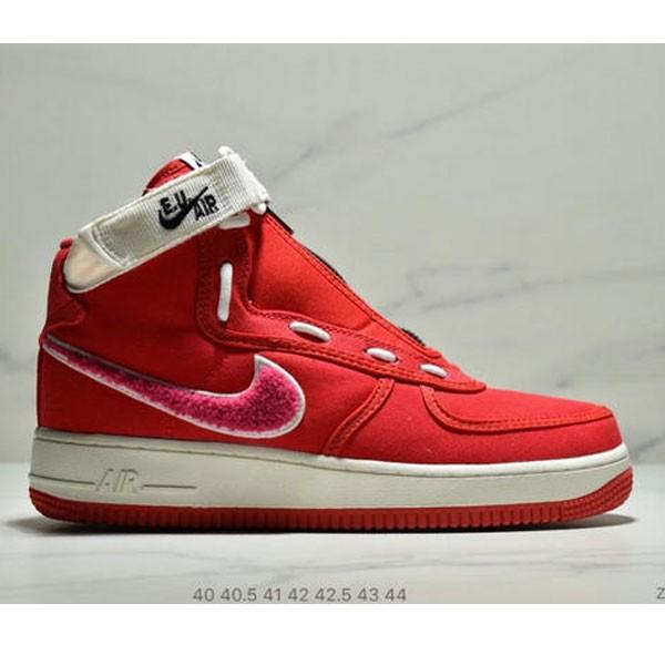 E.U. x Nike Air Force1 High情人節AF1冠希 空軍板鞋 男鞋 紅白