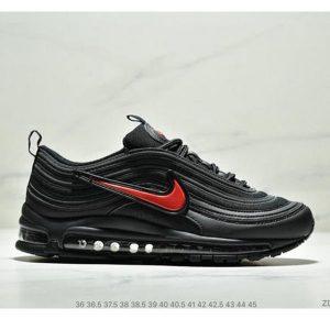 a1fe1fd26aebddc5 300x300 - Nike Air Max 97 大勾子彈復古全掌氣墊休閒運動鞋 情侶款 黑紅