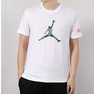 a21e59d05ad09988 300x300 - Nike 短袖男2019夏新款Air Jordan運動半袖AJ透氣T恤衫 白綠