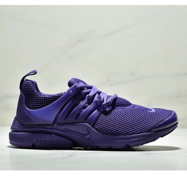 NIKE Presto Flyknit 魚骨 編織 情侶款 紫色