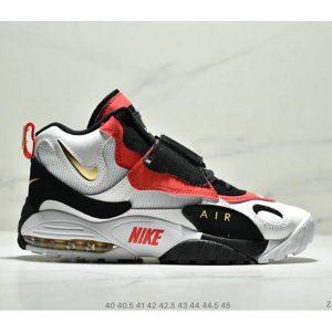 a2540eeaca45b9e5 300x300 - Nike Sportswear Air Max Speed Turf 加速實驗系列復古氣墊籃球鞋黑白奧利奧 男款 黑白紅