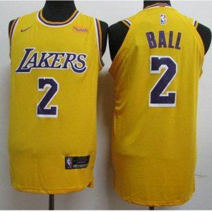 a3660a6ce5721301 300x300 - Nike NBA球衣 湖人 2號 鮑爾 黃色