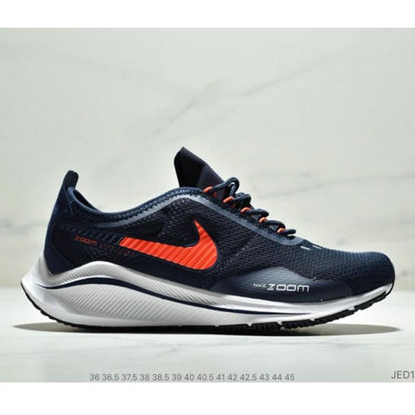 NIKE EXP-Z07 登月V14.5 運動休閒跑步鞋 情侶款 深藍白橘