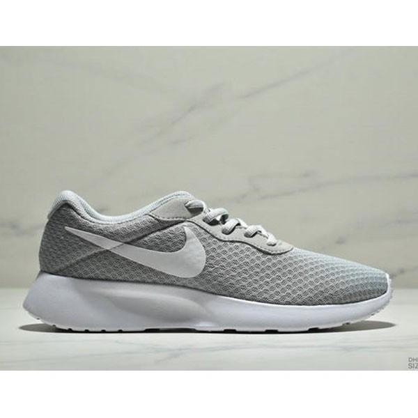 Nike Wmns Tanjun SE 倫敦三代 尼龍韌性透氣網面 男女鞋 灰色