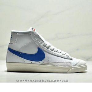 ab2785983e8a5485 300x300 - NIKE BLAZER MID  77 VNTG012613 高幫開拓者頭層皮經典板鞋 情侶款 白寶藍