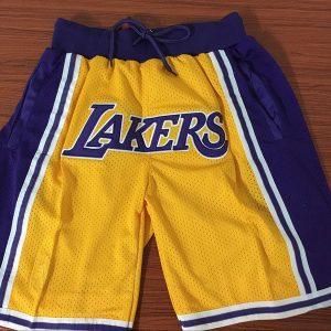 ab2867bcc37e6c5f 300x300 - Nike NBA球褲 湖人黃色復古球褲