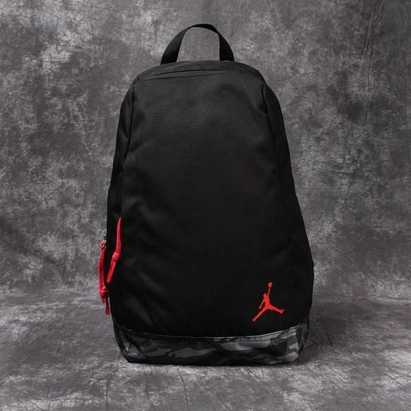 NIKE 雙肩包 男女 學生 書包 AJ 飛人 籃球包 旅遊 電腦 揹包 黑色