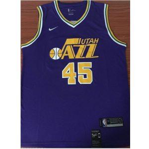 b04fb1a9bfd10c25 300x300 - Nike NBA球衣 季爵士45復古紫色