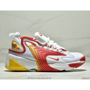 b30ba9c795292a56 300x300 - Nike Zoom +2K Sneaker White/Black Zoom 2000復古百搭老爹慢跑鞋 男款 白紅黃