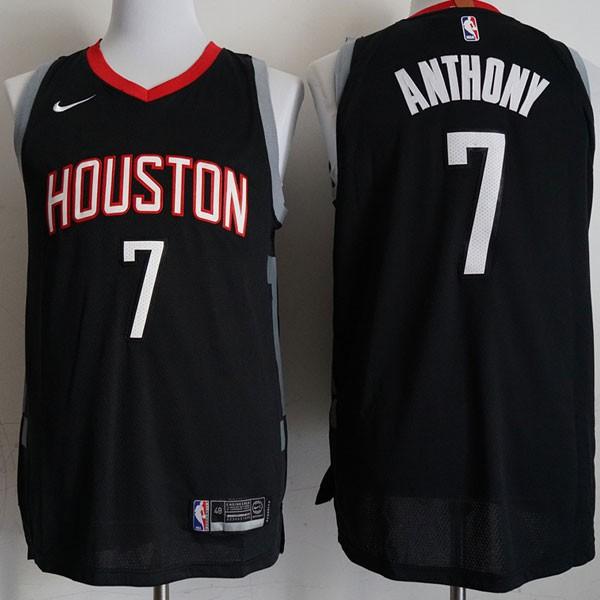 Nike NBA球衣 火箭 7黑色