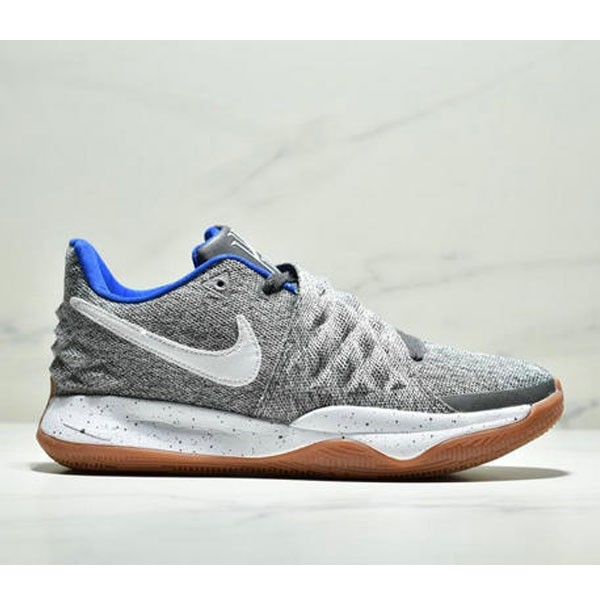 NIKE KYRIE LOW EP 歐文高幫籃球鞋 耐磨緩震實戰戰靴 男款 灰白寶藍