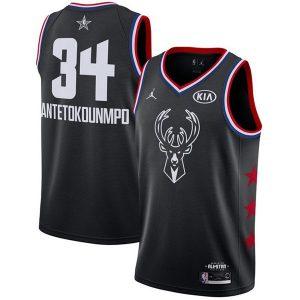b448f63b17455026 300x300 - Nike NBA球衣 全明星雄鹿34黑