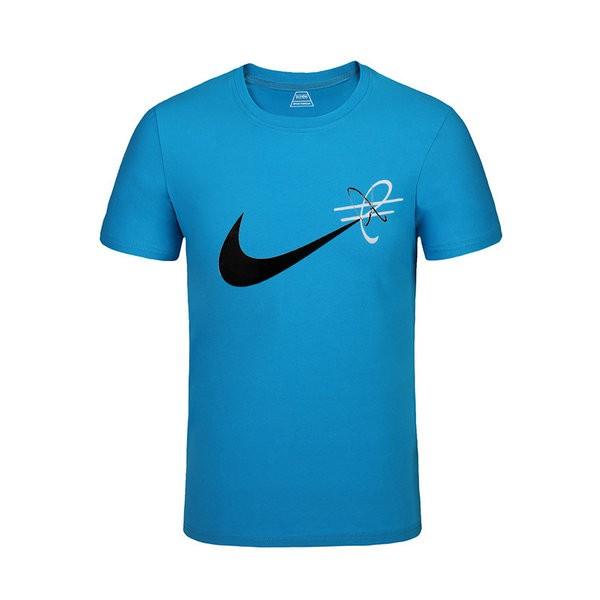 b5263df5c34a4171 - NIKE 跑步 短袖t恤 情侶款 圓領 莫代爾棉 打底衫 修身 簡約 上衣服