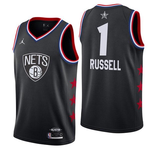 Nike NBA球衣 全明星藍網1黑