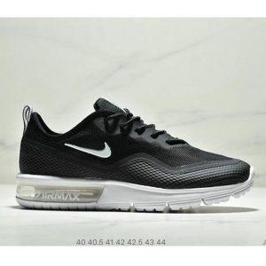 b7085d1e15808a45 300x300 - Nike Air Max Sequent 半掌氣墊 網面透氣跑步鞋 男款 黑白