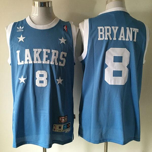 Nike NBA球衣 湖人8藍色 4星版