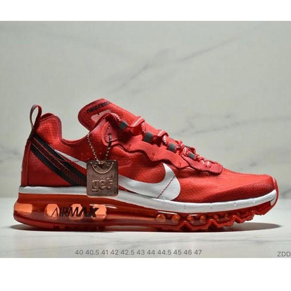Nike React Element 87全新演繹注入Max 2019 氣墊 男款 紅白