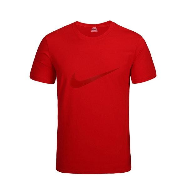 cac5cad311c04192 - NIKE 跑步 短袖t恤 情侶款 圓領 莫代爾棉 打底衫 修身 簡約 上衣服