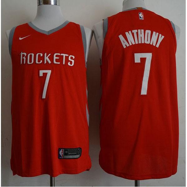 Nike NBA球衣 火箭7紅