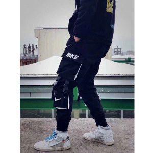 cc5106e9220d478d 300x300 - NIKE 長褲男多口袋寬鬆嘻哈潮流工裝褲新款休閒運動束腳衛褲