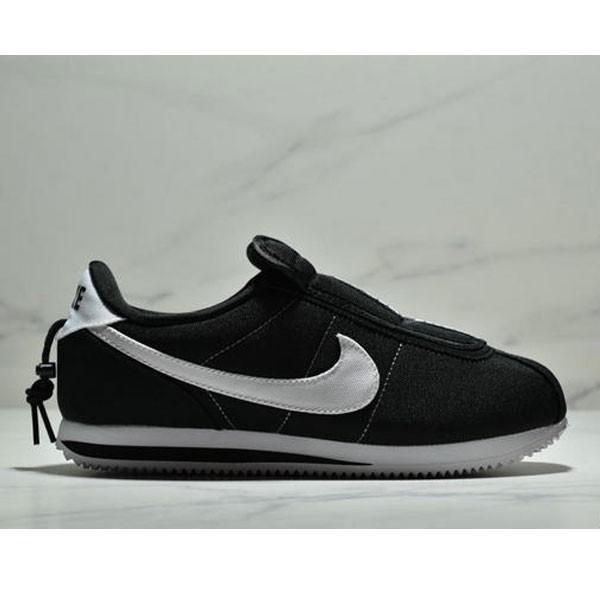 Nike Cortez Kenny IV 110E2022聯名 全新阿甘一腳蹬設計 運動休閒慢跑鞋 男女鞋 黑白