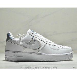 d3488247c712038e 300x300 - NIKE AIR FORCE 1 AF1 空軍一號炫彩鐳射低幫板鞋 男女款 白色