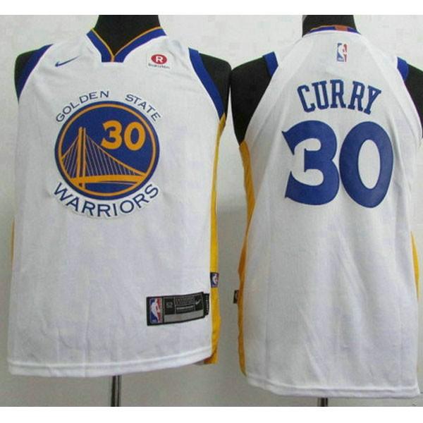 Nike NBA球衣 勇士新款 白色