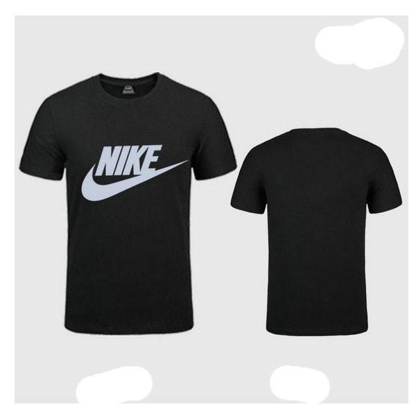 NIKE 跑步 短袖t恤 情侶款 圓領 莫代爾棉 打底衫 修身 簡約 上衣服  男L-5XL  女S-XXL