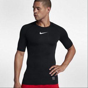 d949d201c8096192 300x300 - NIKE PRO 男子短袖訓練緊身衣 黑色