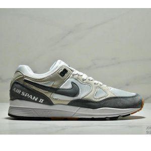 dd75e7bd05cbc716 300x300 - Nike Air Span II 男子新款復古緩震運動鞋 男款 白灰