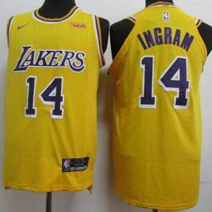 e4036682084813c8 300x300 - Nike NBA球衣 湖人 14號 英格拉姆 黃色