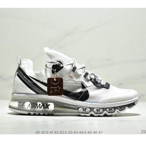 Nike React Element 87 Max 2019 氣墊 男款 白黑
