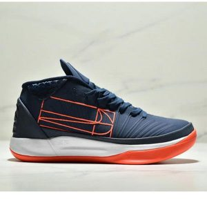 e68187b540a343cd 300x300 - NIKE KOBE AD EP科比實戰籃球鞋運動鞋 男款 深藍橙