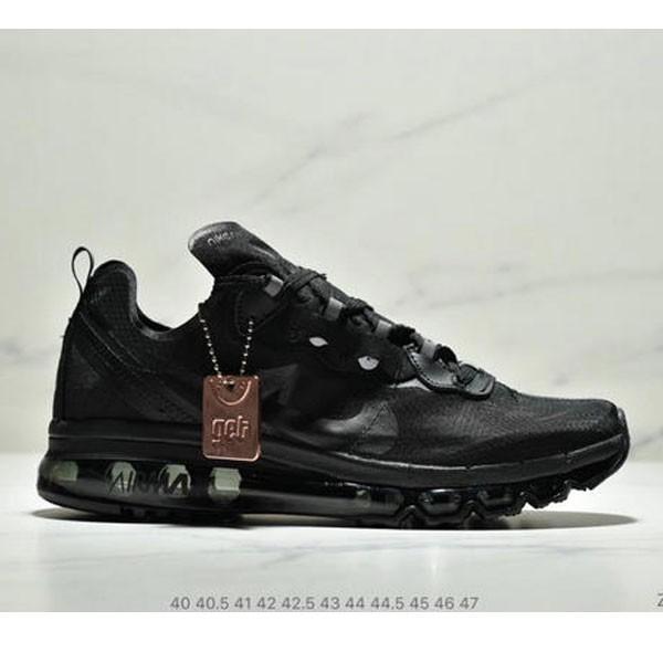 Nike React Element 87 Max 2019 氣墊 男款 黑色